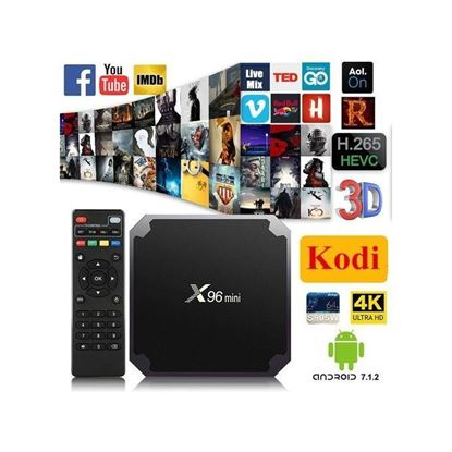 صورة X96 Mini TV Box - 2GB RAM - 16GB ROM