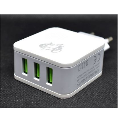 صورة A303 - Wall Charger- 3USB